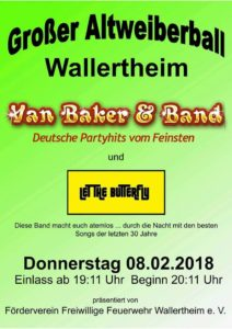 Altweiber Fasnacht Wallertheim