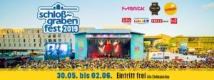 Schlossgrabenfest Darmstadt @ Merck-Bühne