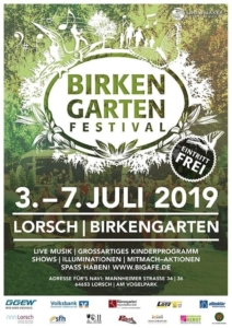 Straßenfest Lorsch @ Birkengartenfestival